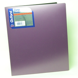 Plum Color Professional Clamp Binder