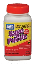 Mega Puzzles Save-A-Puzzle Glue, 4 oz.