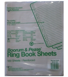 Ring Book Sheets