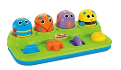 Fisher-Price Brilliant Basics Boppin' Activity Bugs