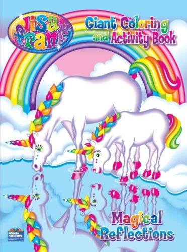 lisa frank magical reflections giant coloring and activity book - Giant Coloring Books