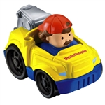 Little People Chirstmas Wheelies Tow Truck