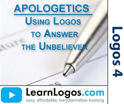 Apologetics: Use Logos to Answer the Unbeliever
