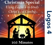 Studying the Birth of Christ with Logos 4