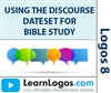 Using the Discourse Dataset for Bible Study (HDOT,HDNT), Part 1/2