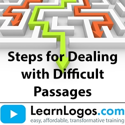Steps for Dealing with Difficult Passages, Part 1/2