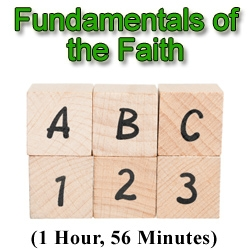 Studying the Fundamentals of the Faith