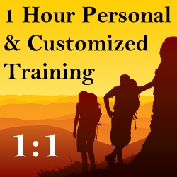 1 Hour Personal, Customized Training