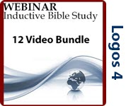 Inductive Bible Study - 12 Video Bundle