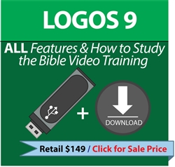 LOGOS 9 All Features Only Training - USB and Download