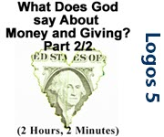 What Does God say about Money and Giving? Part 2/2