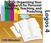 Notes - Organizing Your Research for  Personal Study, Teaching, and Preaching