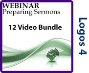Preparing Sermons - 12 Video Bundle