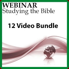 Studying the Bible - 12 Video Bundle