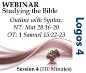 Webinar #04 Studying the Bible