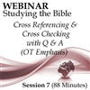 Webinar #07 Studying the Bible