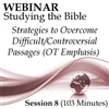 Webinar #08 Studying the Bible