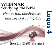 Webinar #10 Studying the Bible