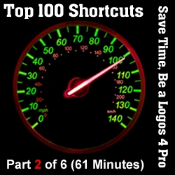 Top 100 Shortcuts for Logos 4 - Part 2/6 (Seminar/Webinar)