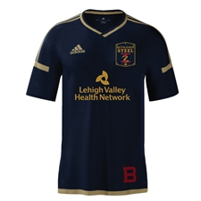 Bethlehem Steel FC 2016 Navy Authentic Youth Soccer Jersey