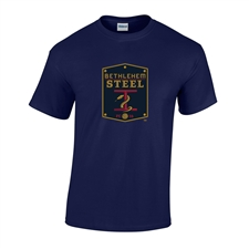 Bethlehem Steel FC Youth Ultra Cotton Short Sleeve Tee (Navy)
