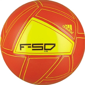 Adidas F50 X-ite Soccer Ball (High Energy/Electricity)
