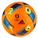 Adidas Euro 2016 Beau Jeu Winter Official Match Soccer Ball (Orange/Bright Blue/Night Indigo)