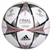 Adidas Finale Milano Top Training Soccer Ball (White/Silver Metallic)