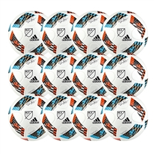 Adidas 2016 MLS Top Glider Ball - 12 Pack (White/Shock Blue/Black)