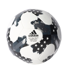 Adidas 2017 NFHS MLS Top Training Soccer Ball (White/Metallic Silver/Black)