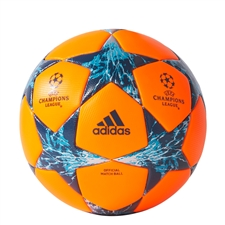 Adidas Finale '17 Official Match Ball (Solar Orange/Mystery Petrol/Blue Night/Energy Blue) | BS2976