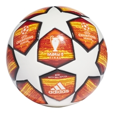 Adidas Finale Madrid Mini Soccer Ball (White/Active Red/Scarlet/Solar Red)