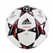 Adidas Finale 13 Top Training Soccer Ball (White/Black/Metallic Silver)