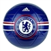 Adidas Chelsea FC Soccer Ball (White/Dark Blue/University Red)