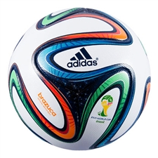Adidas Brazuca Official Match Ball (White/Night Blue) |G73617| FREE SHIPPING