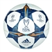 Adidas Finale Lisbon Capitano Soccer Ball (White/Tribe Blue/Solar Blue)