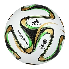 Adidas Brazuca Final Rio Official Match Ball (White) |G84000| FREE SHIPPING