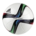 Adidas Conext 15 Top Replique Soccer Ball (White/Night Flash/Flash Green/Black)