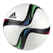 Adidas Conext 15 Top Glider Soccer Ball (White/Night Flash/Flash Green/Black)