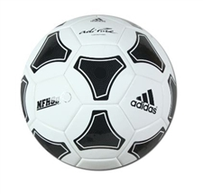 Adidas adiPURE NFHS Competition Soccer Ball (Black/White)