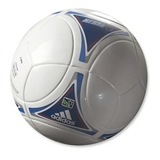 Adidas MLS 2012 Top Training Prime Soccer Ball (White/Blue)