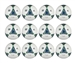 Adidas 2013 Top Trainer Ball - 12 Pack (White/Blue/Green)