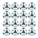 Adidas 2013 MLS Replique Ball - 16 Pack (White/Blue/Green)