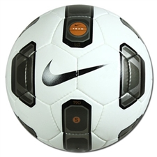 Nike T90 Club Team Soccer Ball (White/Black/Gold)