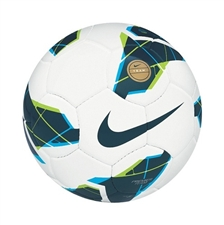Nike T90 Premier Team Fifa Soccer Ball (White/Blue)