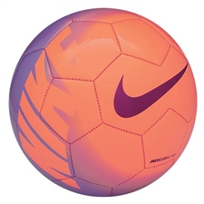 Nike Mercurial Fade Soccer Ball (Atomic Orange/Violet/Bright Magenta)
