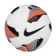 Nike5 Duravel Turf Soccer Ball (White/Total Orange/Black)
