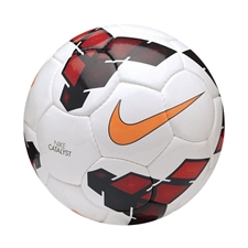 Nike Catalyst 2013 Soccer Ball (White/Red/Total Orange)