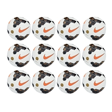 Nike Premier Team 2013 Soccer Ball 12 Pack (White/Gold/Total Orange)