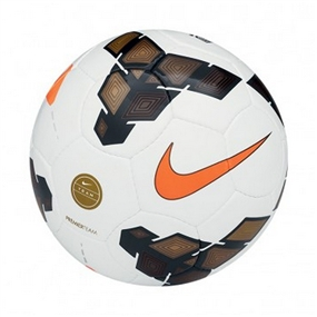 Nike Premier Team 2013 Soccer Ball (White/Gold/Total Orange)